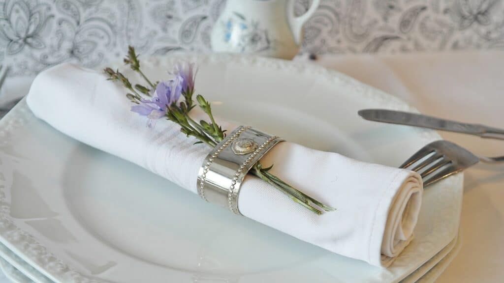 napkin ring, napkin, cloth napkins